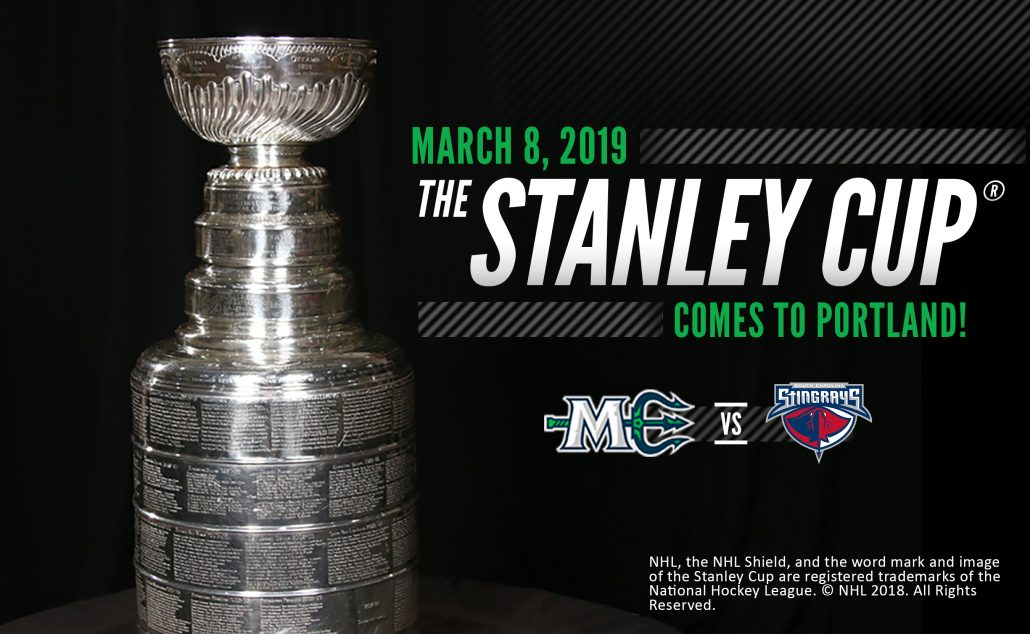 813b62f4fa6 STANLEY CUP COMES TO CROSS INSURANCE ARENA - Maine Mariners