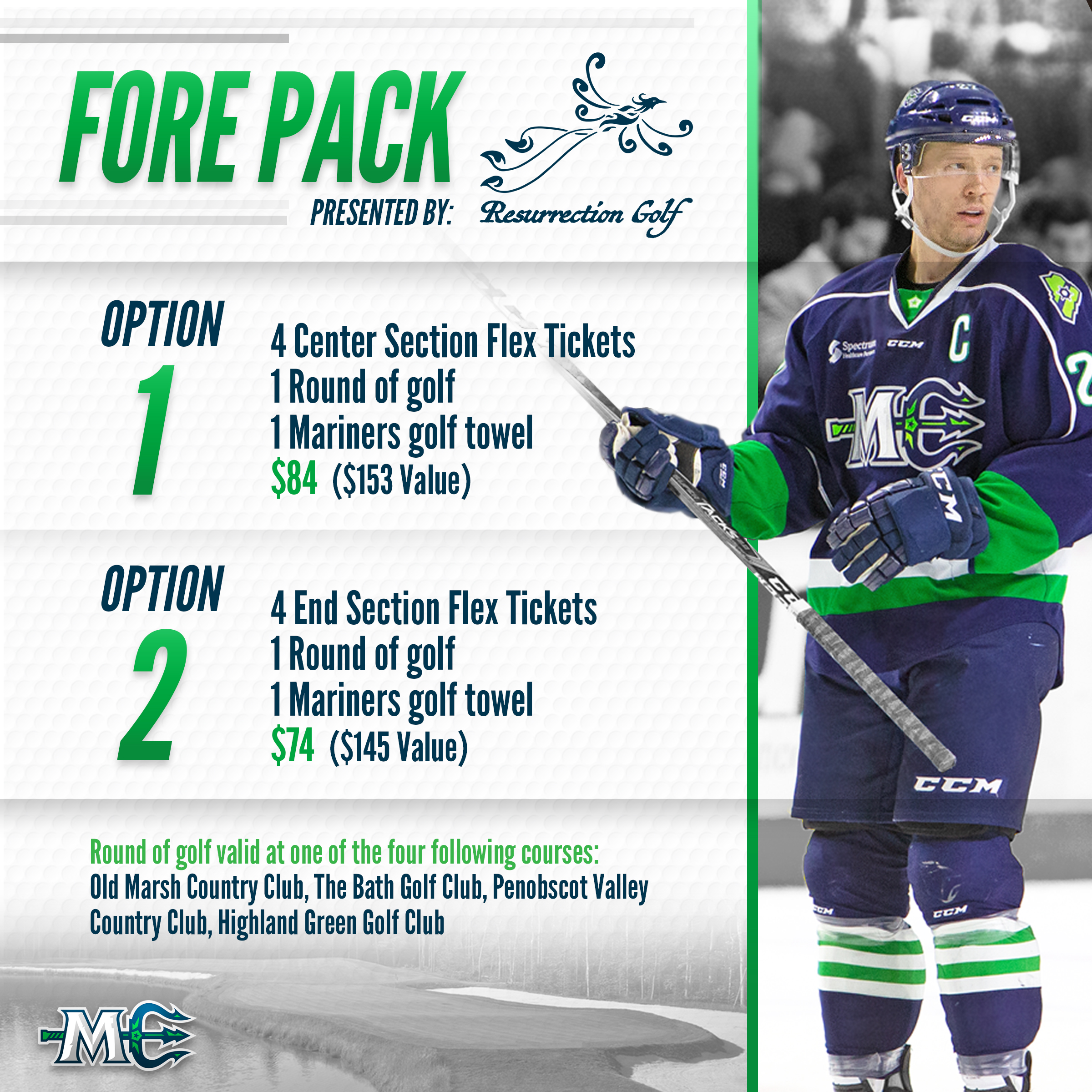 Maine Mariners Fore Pack