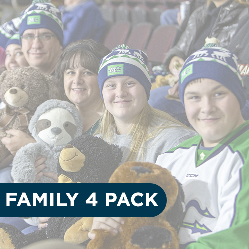Family 4 PACK at Mariners Game
