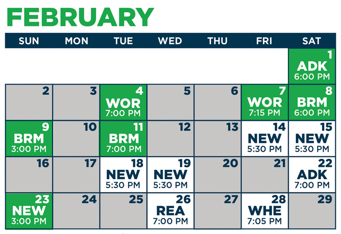 graphic regarding Mariners Printable Schedule known as 2019-20 MARINERS Agenda - Maine Mariners