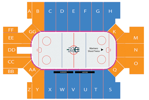 Season Tickets Seating Map