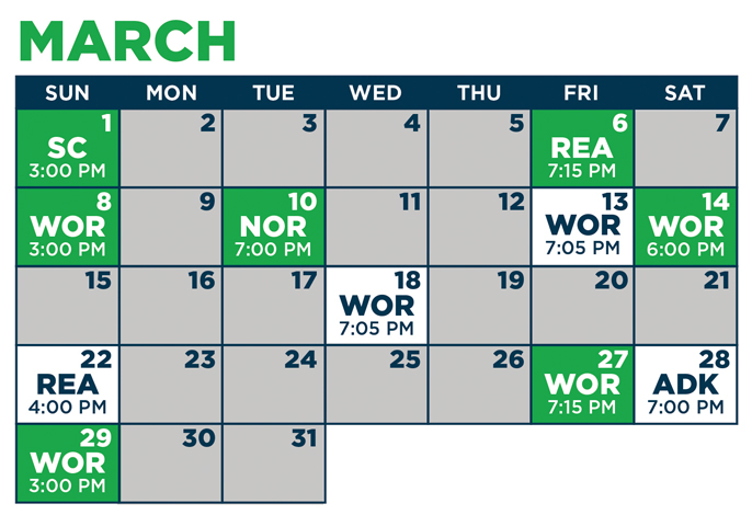 picture about Mariners Printable Schedule titled 2019-20 MARINERS Agenda - Maine Mariners